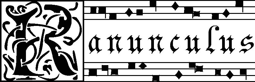 ranunculus_mensuralnotation_logo